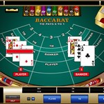 Baccarat Player Wins